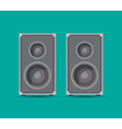Speaker boxes vector image vector image