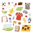 Euro soccer vector image