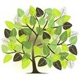 spring garden - abstract tree vector image