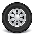 heavy duty truck rim vector image