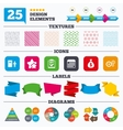 Human resources and Business Checklist document vector image