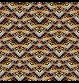 tiled meander seamless pattern modern surface vector image