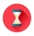 sand timer vector image