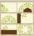Branches with leaves vector image vector image