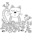 Hiqh quality original coloring pages for adults vector image