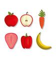 nutrition concept design vector image