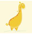 Abstract Giraffe vector image vector image