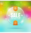 Glass sale vector image vector image