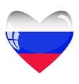 Love for Russia vector image
