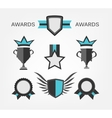 Award Sign and symbol vector image