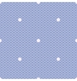 blue dotted lacy seamless pattern vector image