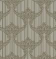 striped ornament vector image