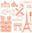 Paris10 vector image