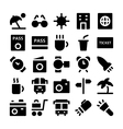 Travel Icons 5 vector image