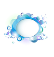 water border vector image