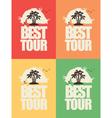 tour best 02 vector image vector image