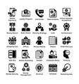 shopping icons set 8 vector image