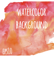 watercolor background for design covers flyers vector image vector image