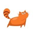 Standing Big Cat Image vector image