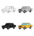 old carcar single icon in cartoon style vector image