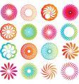 Spirograph designs vector image vector image