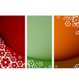 floral posters vector image