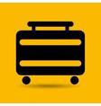 travel suitcase service hotel design graphic vector image