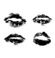 sets of lips vector image