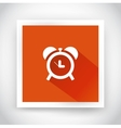 Icon of alarm clock for web and mobile vector image