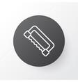 saw icon symbol premium quality isolated vector image