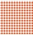 Seamless texture of orange plaid vector image