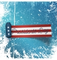 Presidents Day big realistic scroll paper Ribbon vector image