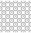 Clock pattern seamless vector image