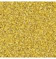 Glitter golden seamless texture vector image