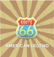 Route-66 vector image