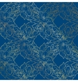 Lace background with apple tree blossom Desing vector image