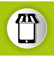 shopping icon symbol design vector image vector image