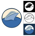 logos of cruise ships vector image