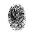 Thumbprint vector image
