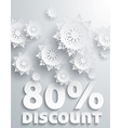 Discount percent vector image vector image
