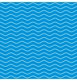 Wavy Lines Seamless Pattern vector image