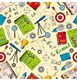 Sciense and education seamless pattern vector image vector image