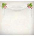 Floral Vintage Wedding Background vector image vector image