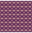 Gorgeous seamless patchwork pattern from vinous vector image