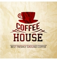 Menu for restaurant coffee house vector image vector image
