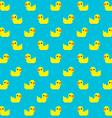 Pixel Duck vector image vector image