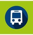 man tourist traveler bus transport design graphic vector image