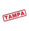 Tampa Rubber Stamp vector image