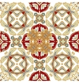 Gorgeous seamless patchwork pattern from colorful vector image