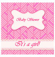 Baby-shower-abstract-background-girl-2 vector image